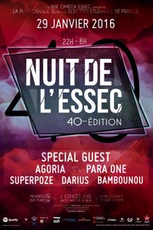 NUIT DE L'ESSEC 2016