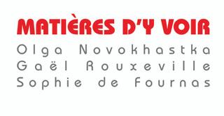 MATIERES d'Y VOIR