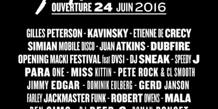 Nuits fauves opening : Etienne de Crécy & Simian Mobile Disco