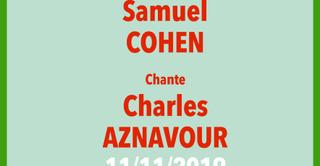 Samuel Cohen chante Aznavour