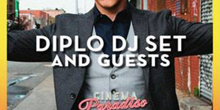 Diplo and Friends @ Cinema Paradiso Superclub