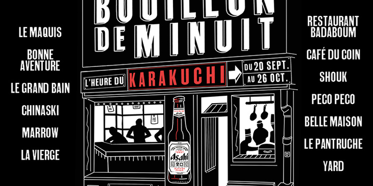 Bouillon de Minuit, l'heure du Karakuchi !