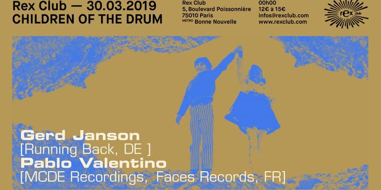Children Of The Drum: Gerd Janson, Pablo Valentino