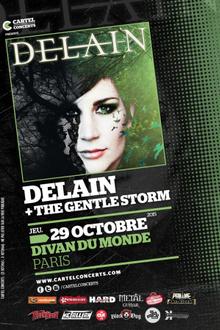 Delain + Anneke Van Giersbergen Presente The Gentle Storm