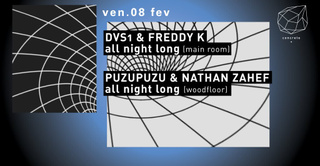 Concrete: DVS1 & Freddy K all Night Long, Puzupuzu & Nathan Zahef