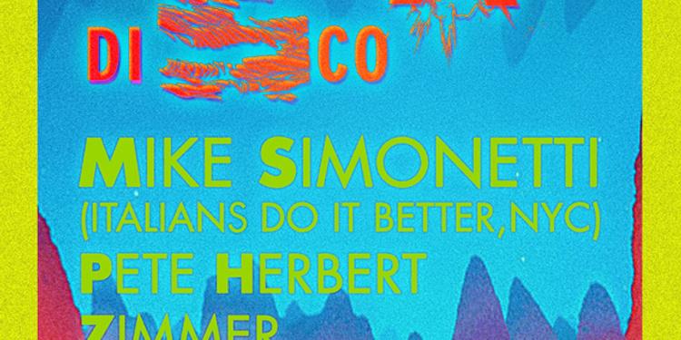 Nouveau Disco : Mike Simonetti - Pete Herbert - Zimmer