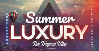 Summer Luxury : The Tropical Vibe