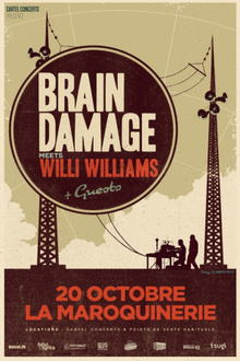 Brain Damage Meets Willi Williams en concert