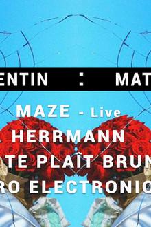 St Valentin : Match Retour ♡ Paris Techno