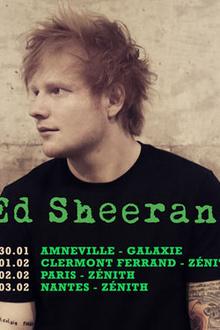 Ed Sheeran en concert